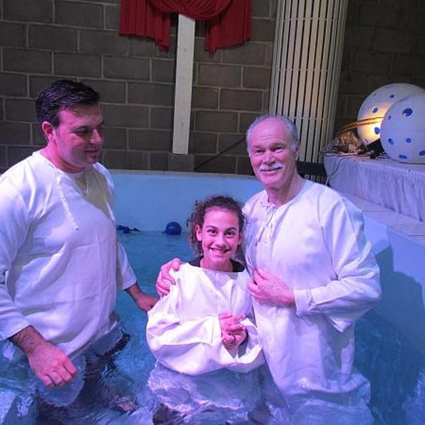 Culto de Batismo