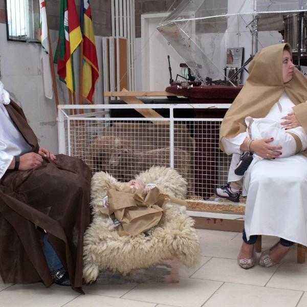 Culto de Santa Ceia de Dezembro Presépio Vivo e Homenagem aos Diáconos