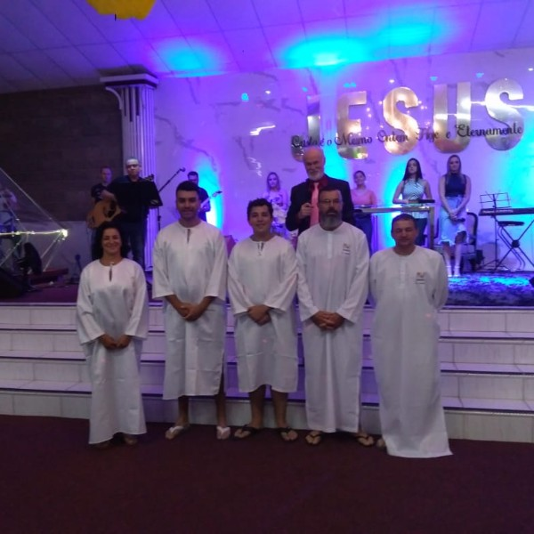 Batismo Março 2020