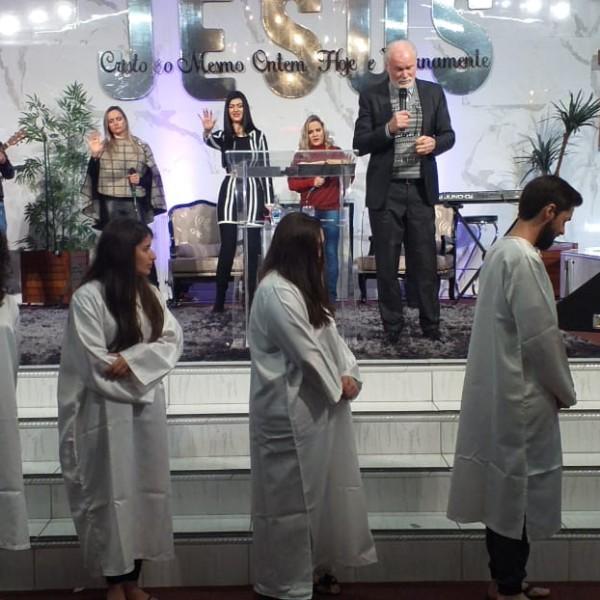 Batismo 30 de Agosto de 2020